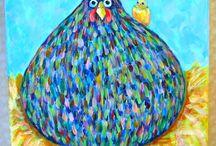 Pääsiäinen / Sininen kana