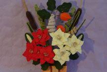 Natale - creazioni all'uncinetto www.nonsolofiori.com / Creazioni natalizie realizzate all'uncinetto
