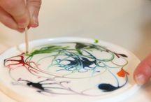 Glue art