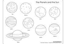 Világűr, bolygók
