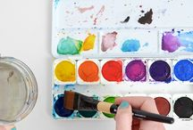 Watercolours for grown ups