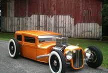 Hot Rods & Rat Rods & Street Rods / by Pam King