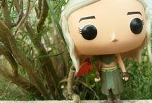 Figura Daenerys Targaryen Pop! Funko / Fotos de la figura de vinilo de la serie Pop! de Daenerys Targaryen de Juego de Tronos.