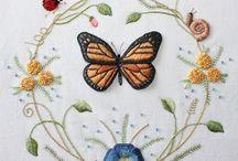Bordados, Embroidery / by Gorete de Figueiredo