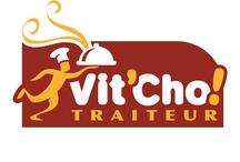 Illustrations Vit'Cho! TRAITEUR / Logo Vit'Cho! TRAITEUR tout au long de l'année