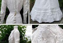 edwardian-turn of century dress