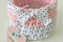 canastos croche bebe