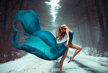 гимнастка балерина