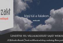 Webzakt / WEBZAKT   Lépj túl a falakon!   Weblap készítés