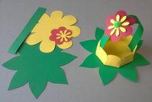 prace plastyczne - wiosna