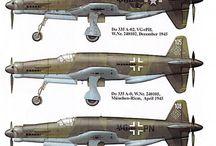 WK II  Do 335 & Wasserflugzeuge / Experimental DO 335 und  Deutsche Wasserflugzeuge