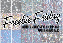 Freebies and DIY Projects / by Chalkboard Nails