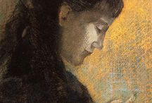 Art: Odilon Redon / 1840-1916. French painter.