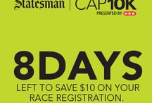 Statesman Cap 10K Race Announcements & Info  / We will pin all important race announcements on this board including registration information and deadlines. / by Statesman Cap10K Race