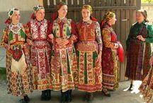 Ethnic needlework/costume