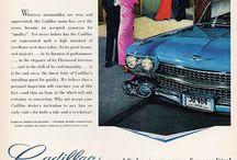 1950's Cadillac print ads