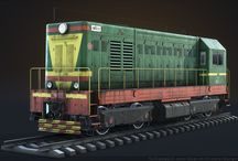 Trains and Railroad