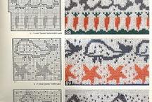 Ciekawe wzory na druty