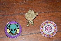 Jemini Pins / hat pins by Jemini Pins & other artists