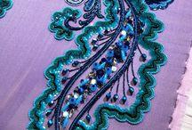 bordados con perlas