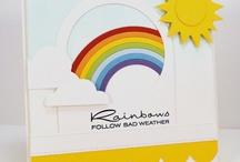 regenboog / regenboog kaarten