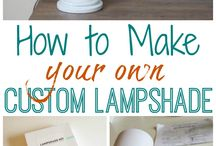How to make your own lamp shade