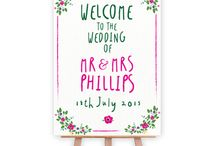 Wedding Signs Summer Discount / 25% off all our wedding signs this summer, including backdrops, arrows, pop-up signs, welcome signs, Instagram signs and banners. Ends midnight 31 August 2015
