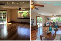 Before and After - Our Listings / I've always wanted to do this - take the best photos I can with my iPhone and then show them side by side with the staged, professional version.  Only the best will do! / by Kirsten Reilly