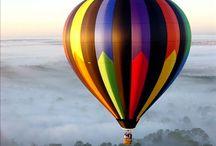 Hot air balloon. ......love