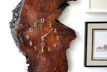 часы из дерива