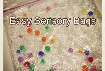 Sensory play / Ideas for sensory play for babies, toddlers and preschoolers
