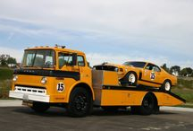 Transporters / The coolest trucks, race car transporters and vehicle carriers.