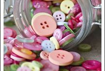 Buttons, Etc. / Buttons and other sewing stuff, as well as some crafty things. / by Paula Snoddy