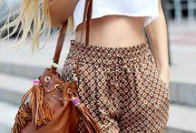 pantalons (été)