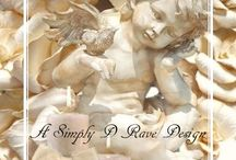 PAPERS - ANGELS CHERUBS FAIRIES