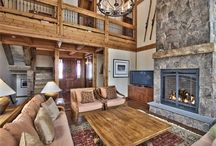 Fantastic Fireplaces / Cozy up to these amazing fireplaces after a long day on the slopes.