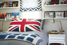 Boys bedrooms / multiple ideas for bedrooms for boys / by Happy Ellen