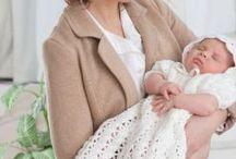 Crochet christening set