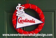 Cardinals craft ideas / by Caitlin Deters