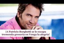 ¡A Patricio Borghetti se le escapa tremenda grosería en Venga la alegría!