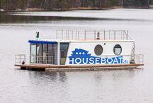 Self-driving Houseboats
