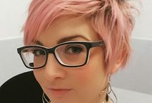 The Pink part of me / idea for Pink , Gold rose, Antique Rose short hair