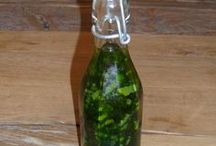Bärlauchrezepte-Öl