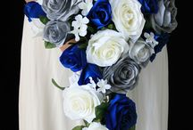 N&D Silver and Blue Wedding