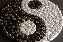 kola ve şişe kapakları