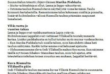 Ylläs uutiset / Marikan SisustusStudio / by Marika Piekkala