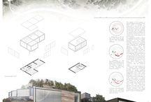 Architektonische Präsentation