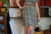 Moneta Dress sewing pattern