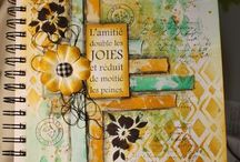 mixmedia journal cover
