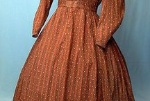 1840-1860s living history fashion
